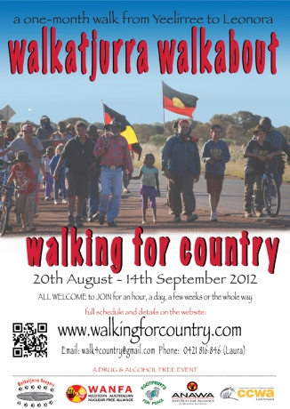 Walking for Country 2012